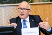 Frans Timmermans, Commission, First Vice-President attending PETI Committee