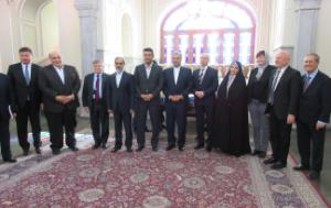 Mr Kazem Jalali, Head of the Iran Delegation with Members of the Majlis and the EP Members