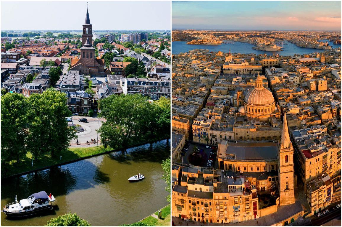 Photo des Capitales européennes de la culture 2018 : Leeuwarden et La Valette