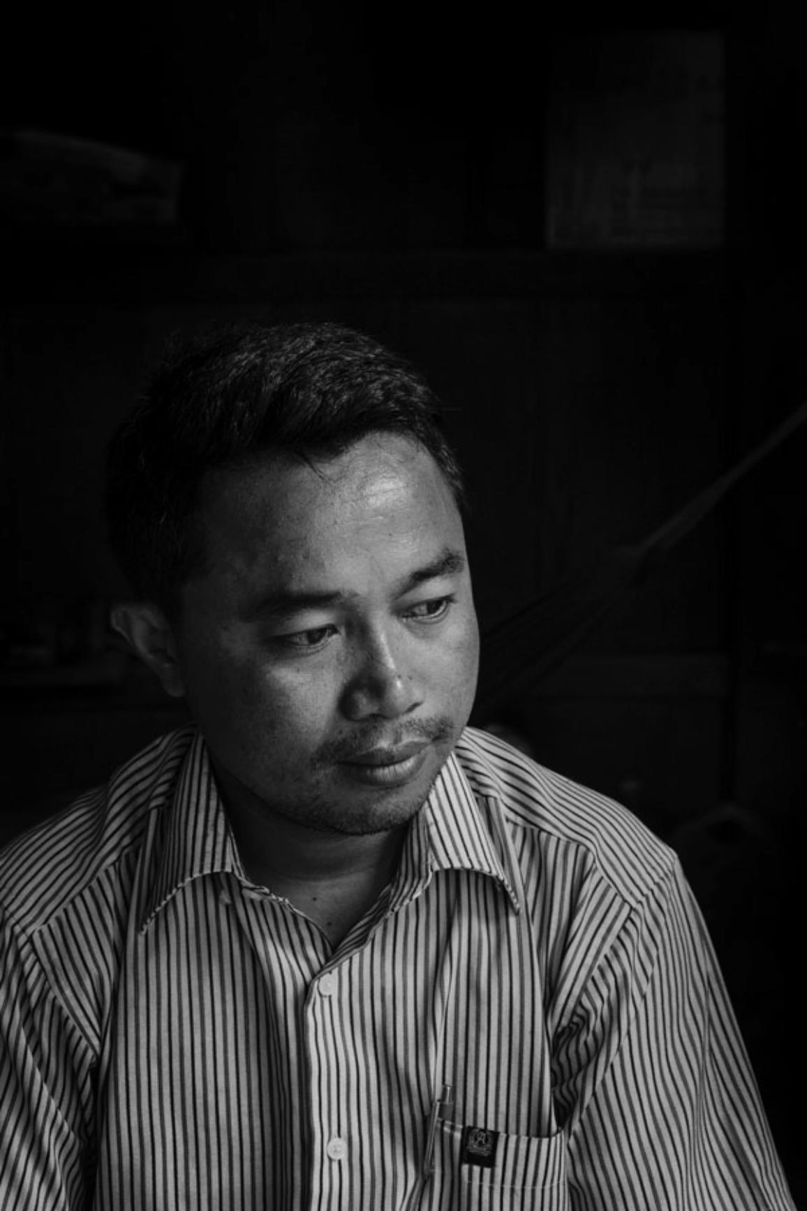 02_Cambodia_Photo 01: Samrith Vaing is a human rights activist from Cambodia and Sakharov Fellow. He is 35 years old and belongs to Bunong ethnic group, which is one of the country´s 24 communities. Samrith Vaing helps the indigenous communities facing the threat of forced eviction from their ancestral lands by the government due to aggressive agribusiness and dams' construction.©Jérôme Sessini/Magnum Photos, 2017
