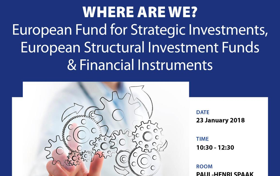 Workshop on  Investments in the EU: where are we?