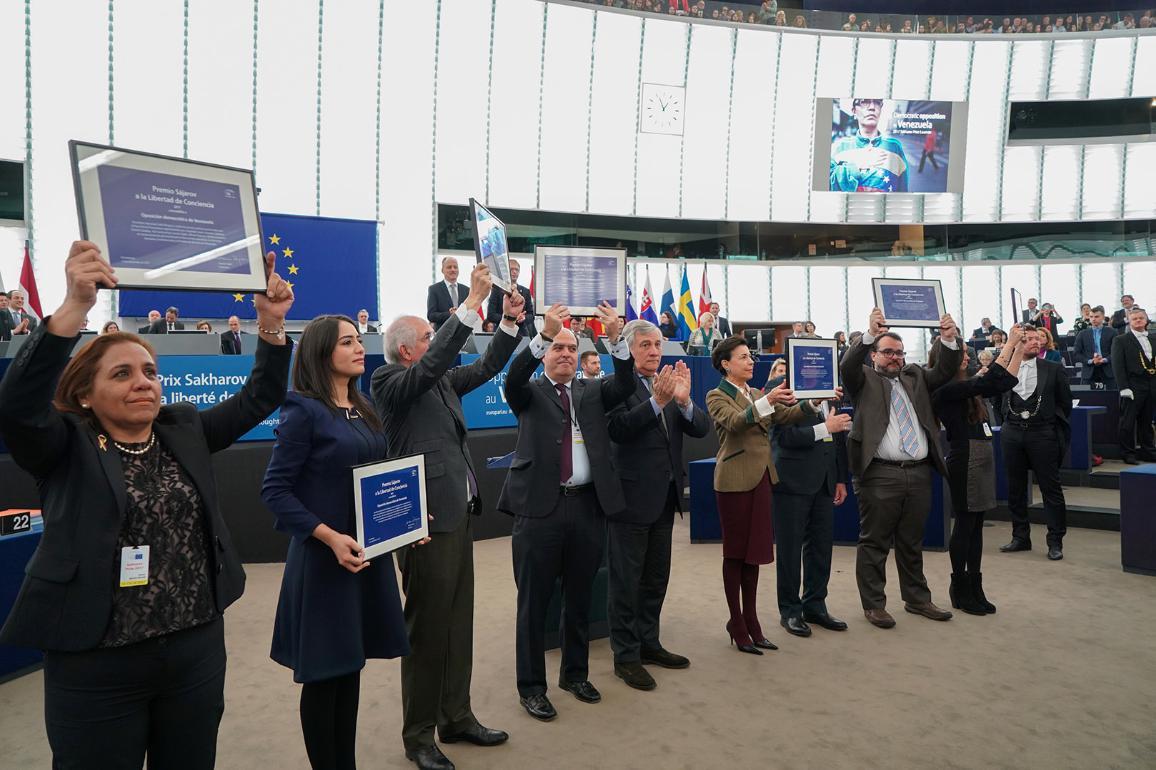 Imagen de los ganadores.