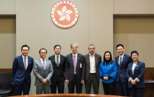 D-CN bureau Members Jo Leinen and Frank Engel with Members of the Hong Kong Legislative Council
