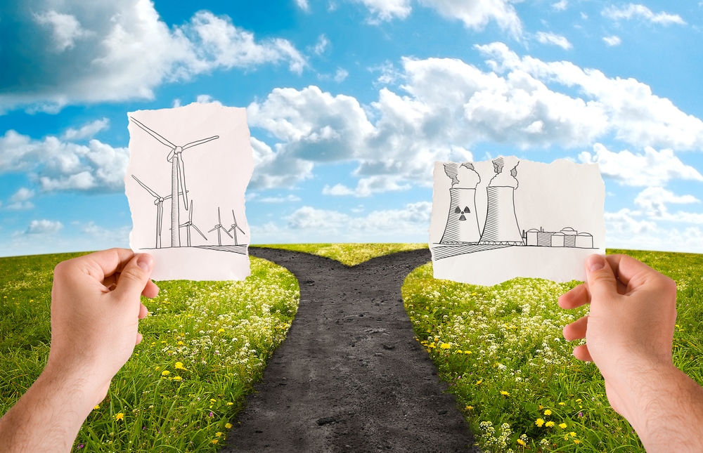 Choose the alternative energy source, wind or nuclear