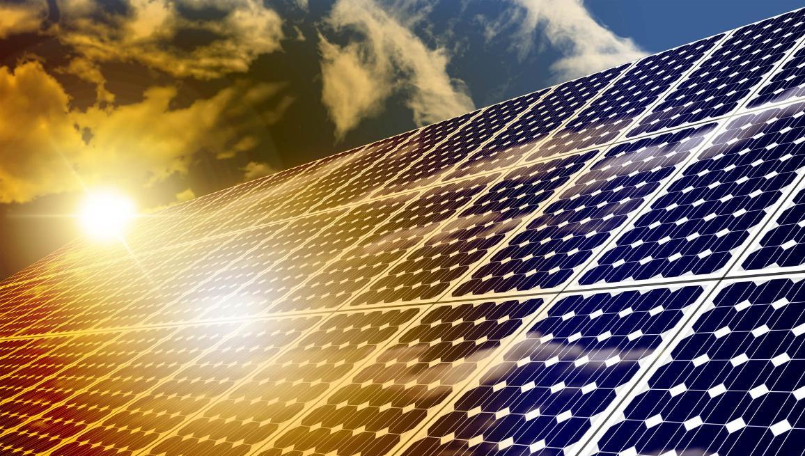 Aurinkoenergia on yksi uusituvan energian lähde ©AP Images/Euroopan unioni-EP