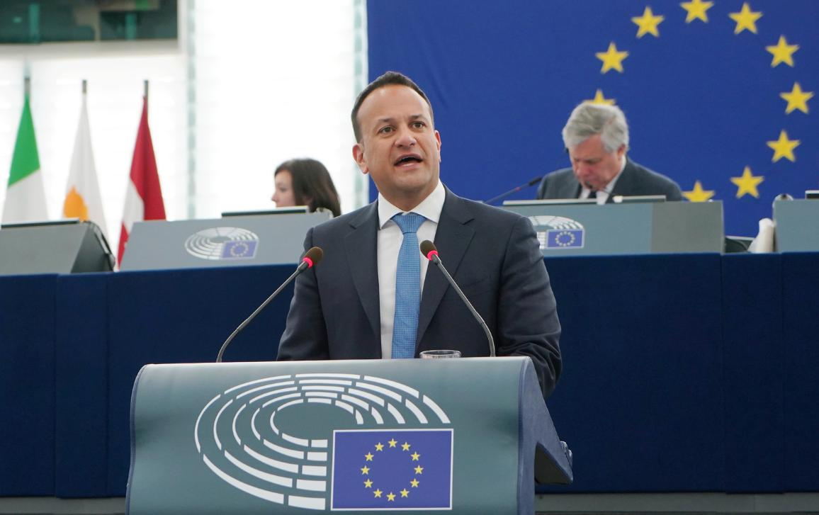 Irish Taoiseach Leo Varadkar debates the future of Europe with MEPs in plenary