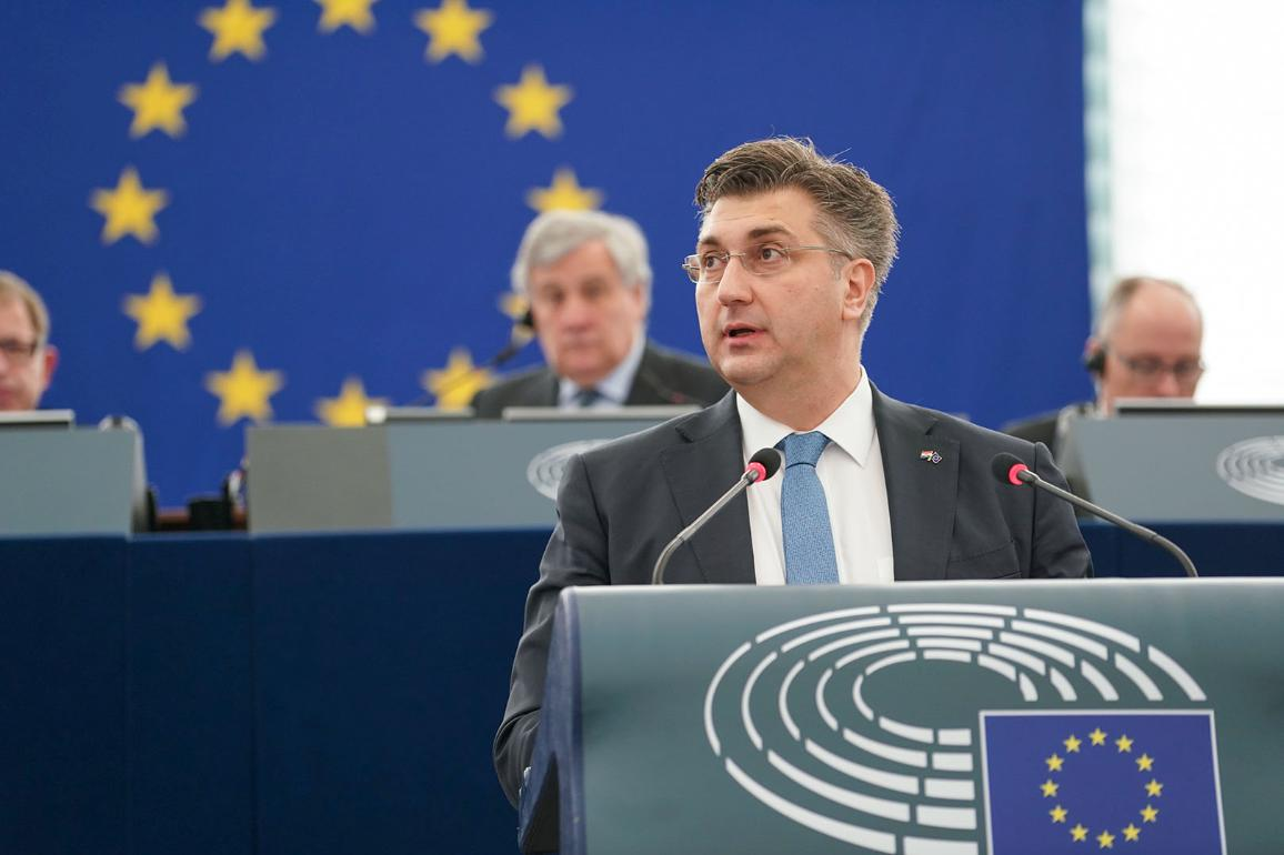 Croatian PM Andrej Plenkovic