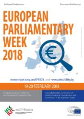 Poster European Parliamentary Week 2018