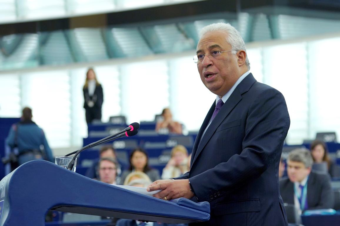 Debate with the Prime Minister of Portugal, António Costa, on the Future of Europe © European Union 2018 - EP