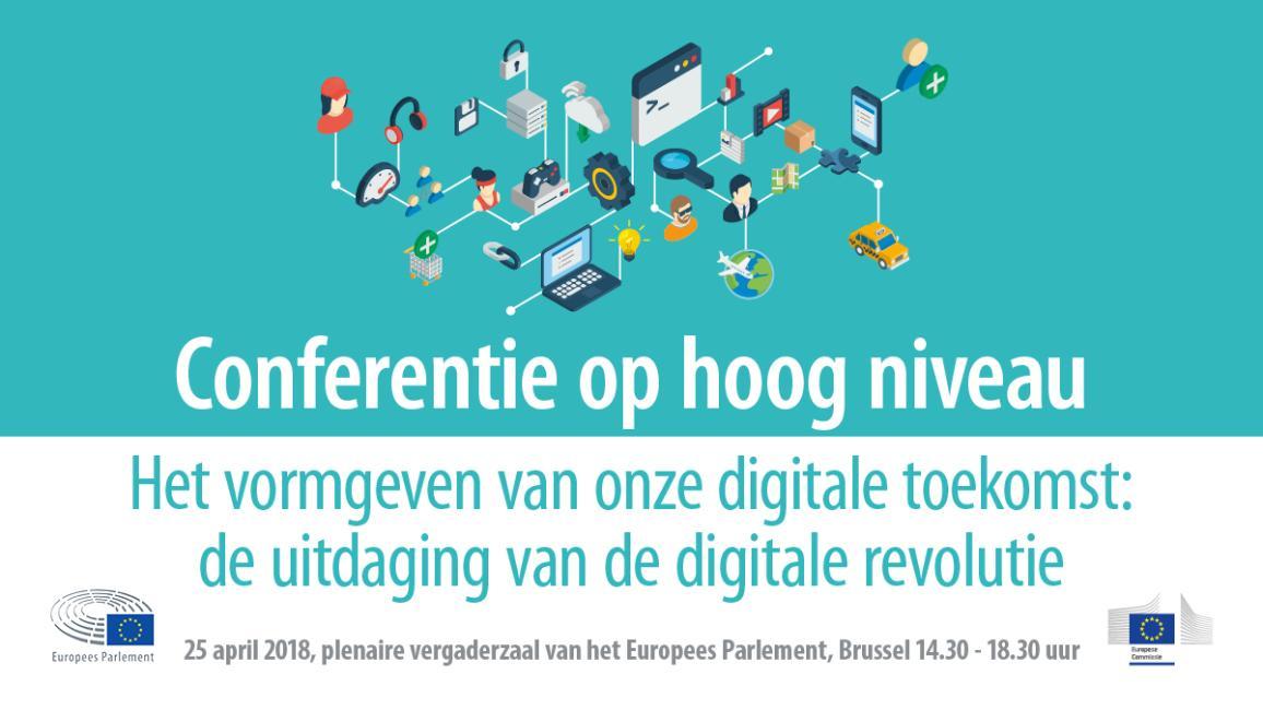 Conferentie op hoog niveau: het vormgeven van de digitale toekomst