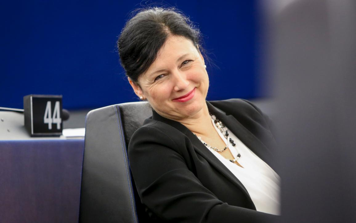 Photo of Justice, Consumers and Gender Equality Commissioner Jourová