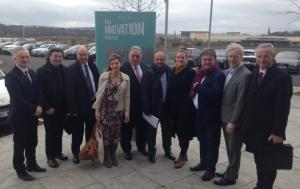 REGI MEPs visiting Science Park in Derry, Northern Ireland