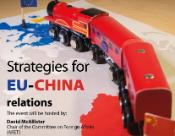 Poster for Strategies for EU-China relations hearing