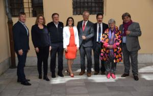 REGI mission to Slovenia - common photo MEPs
