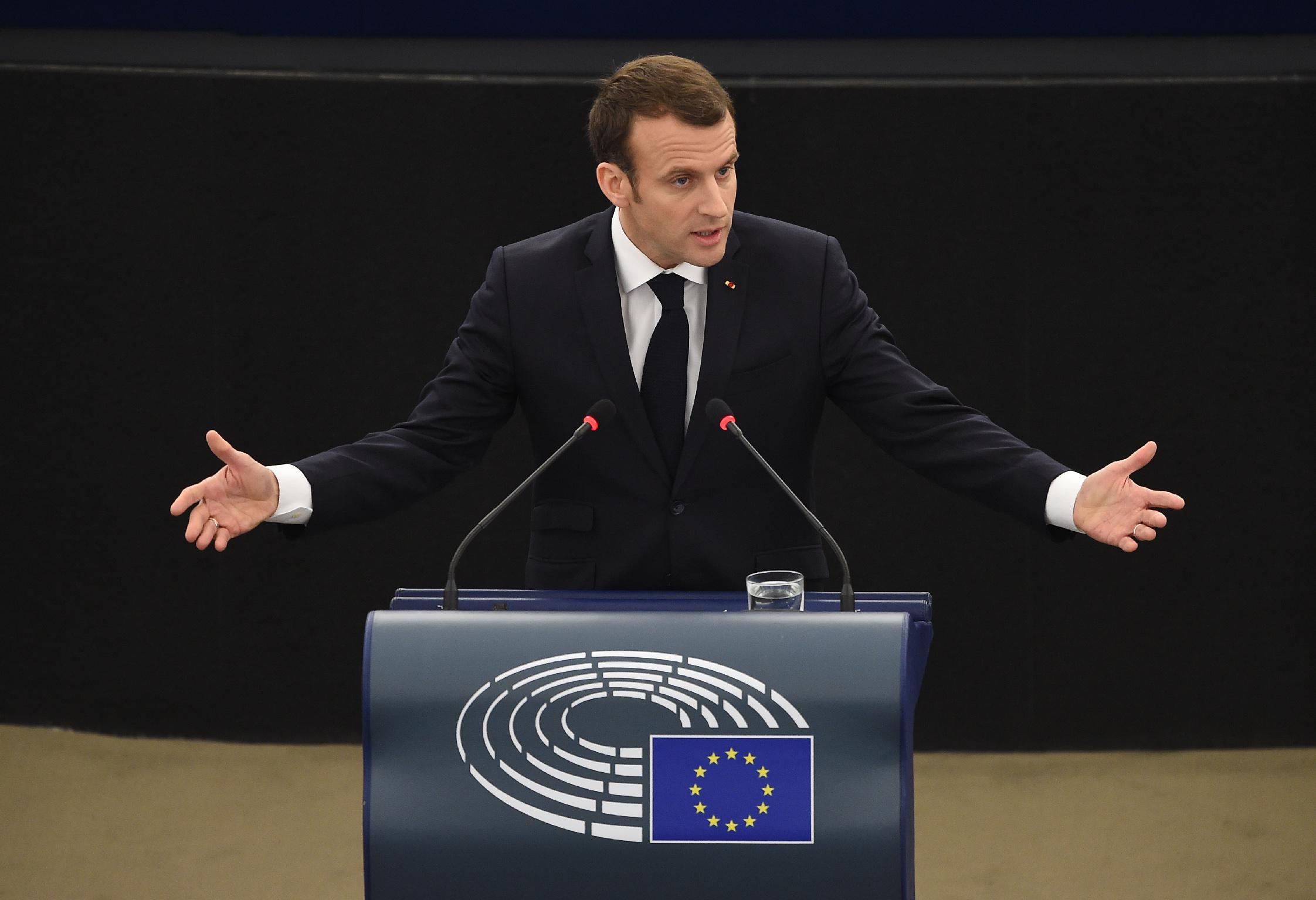 Macron Defends The Idea Of European Sovereignty News European Parliament