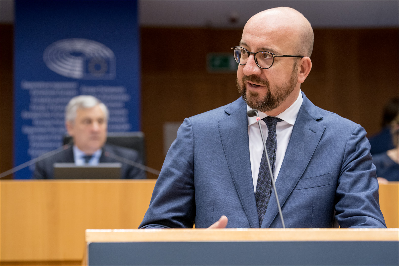 Charles Michel advocates a strong Europe that acts where it can add real  value | Aktuelles