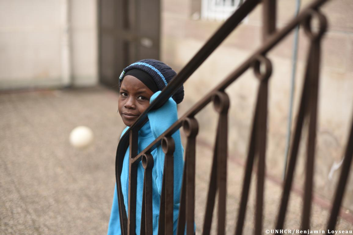 The 800 inhabitants village of  Thal Marmoutier, in Alsace, France has welcomed 56 refugees with 25 of them who were evacuated from Libya in december 2017. With the help of UNHCR they were resettled from Chad and Niger to France. © UNHCR/Benjamin Loyseau