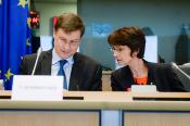 Commissioners Thyssen and Dombrovskis