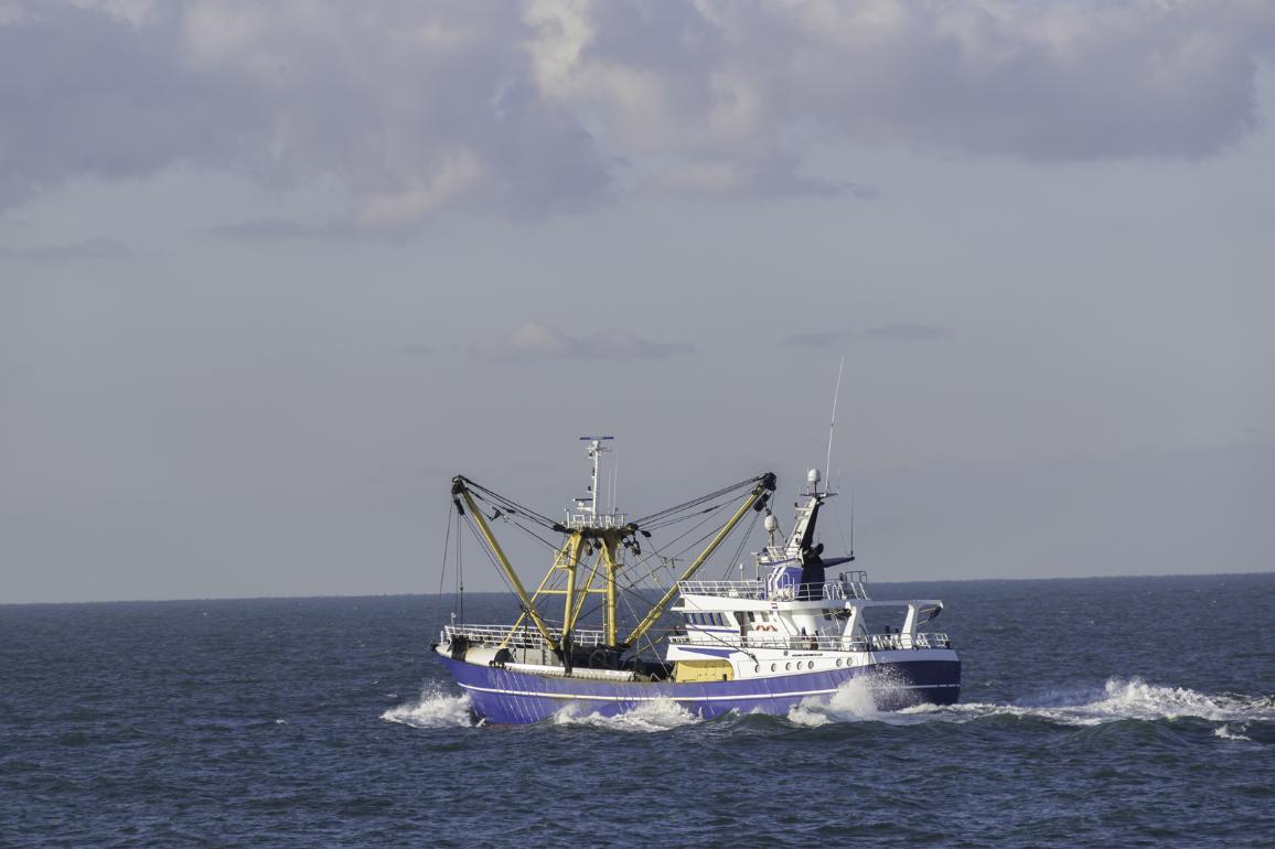 Fishing boat on the North sea ©AP Images/European Union-EP