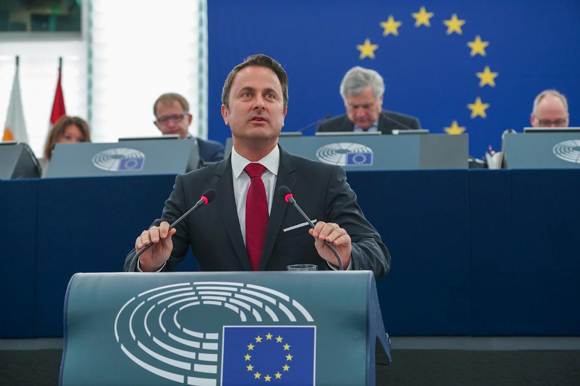 Luxembourgish President Xavier Bettel