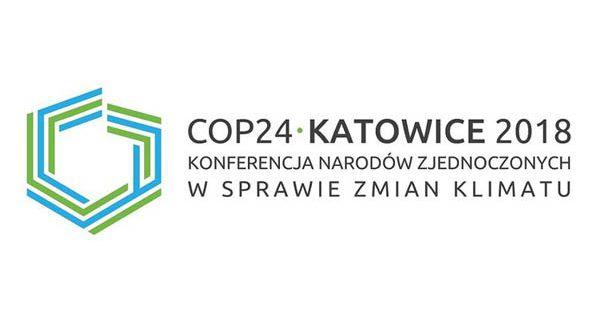Official 2018 UN Climate Change Conference in Katowice, Poland (COP24) logo