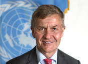 Erik Solheim, Executive Director of the UN Environment Programme (UNEP) since May 13, 2016
