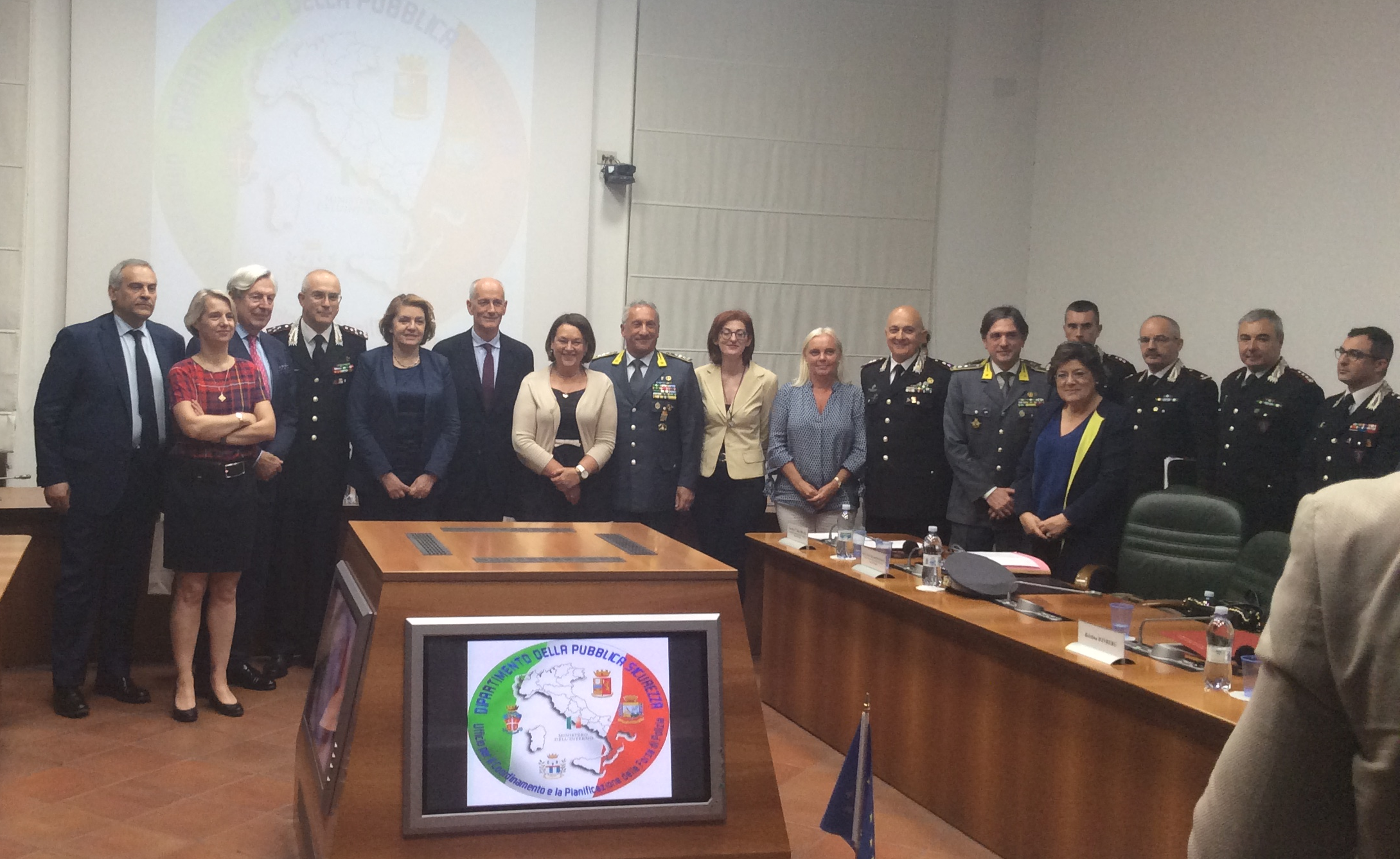 Special Committee on Terrorism mission to Rome and Catania