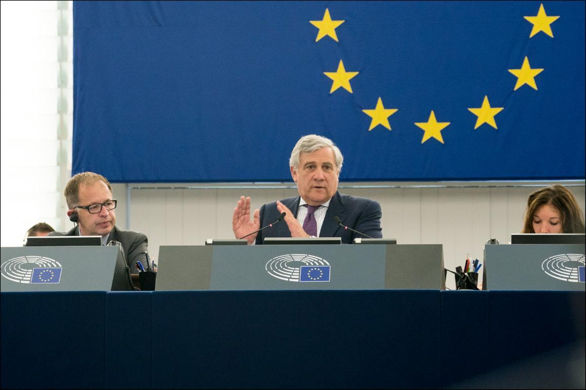 President Tajani opened June plenary session in Strasbourg