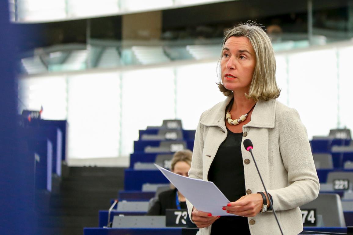 Federica Mogherini, az Unió külügyi és biztonságpolitikai főképviselője