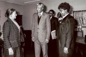 Simone VEIL, Nelson MANDELA, Winnie MANDELA