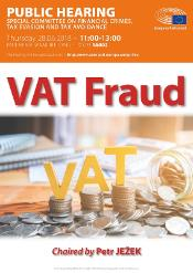 Public hearing of the TAX3 Special Committee on VAT Fraud