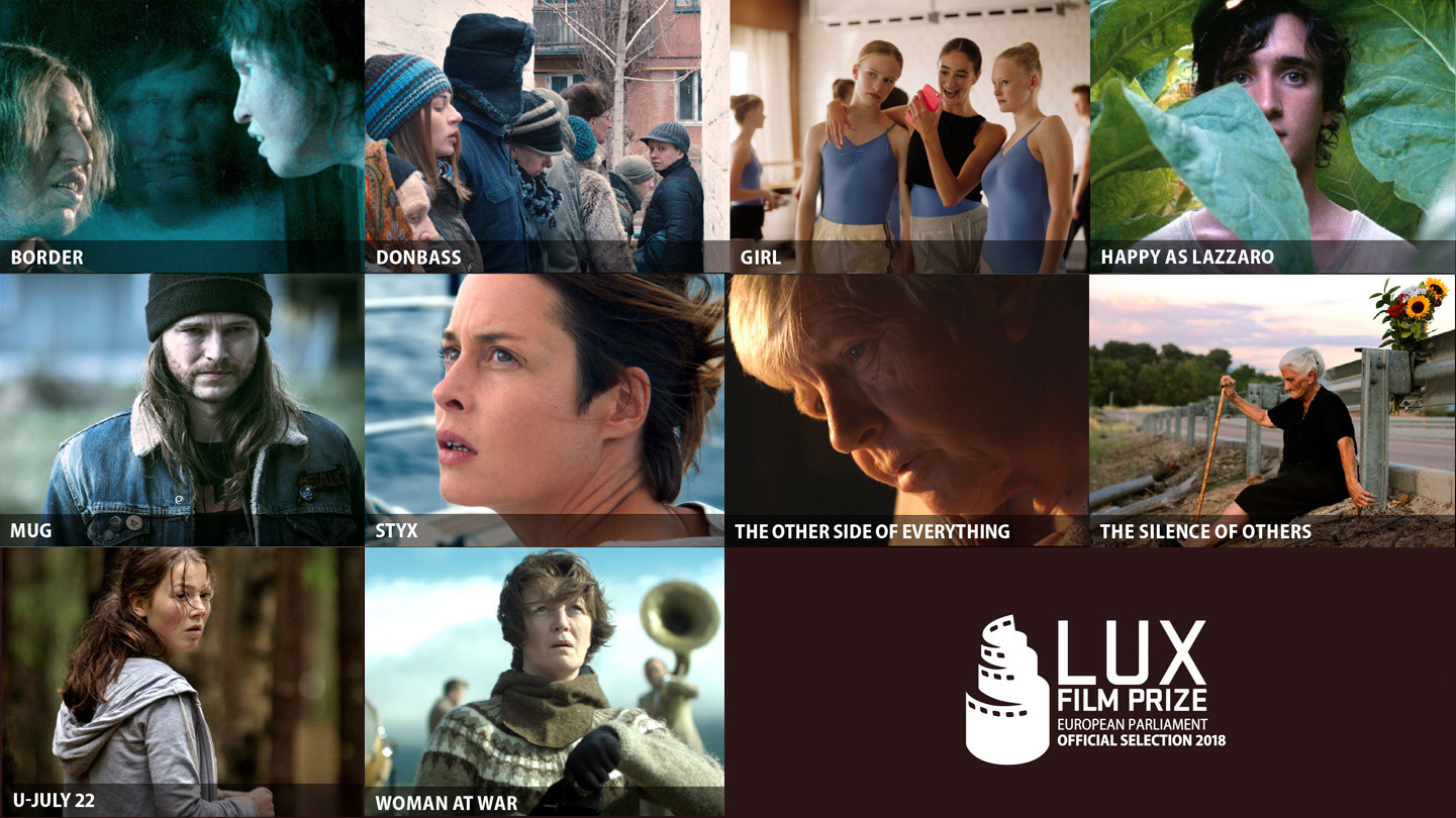 Discover the 10 European films selected for Lux Film Prize