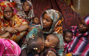 Refugees in Agadez, Niger in June 2018