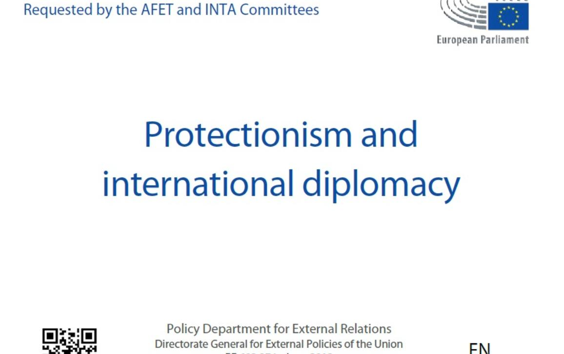 Study - Protectionism and international diplomacy