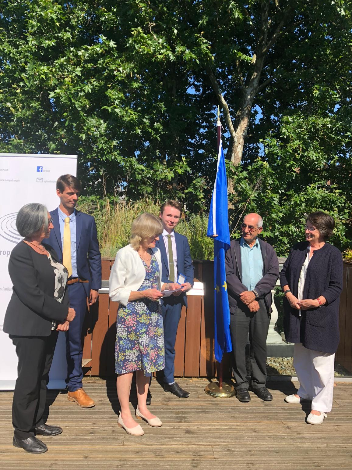 UK European Citizens' prize for 2018