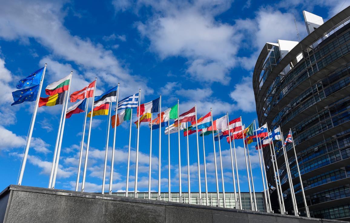 Euroopan parlamentin rakennus Strasbourgissa © Euroopan unioni 2018 – EP.