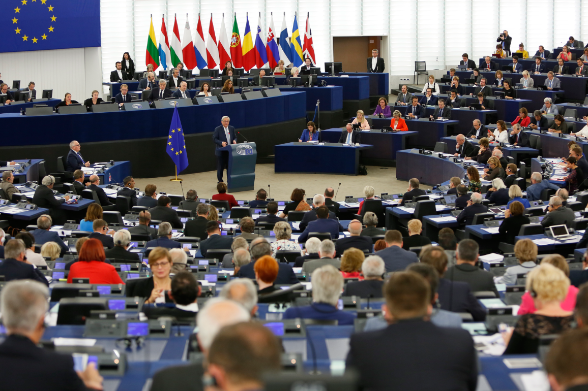 Jean-Claude Juncker delivers the State of the European Union speech