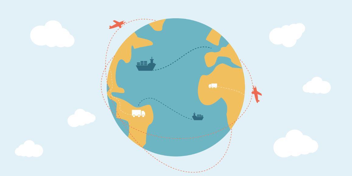 Foto: ES globālā tirdzniecības sitēma.