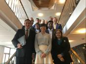 AFET delegation with Ine Eriksen SØREIDE, Minister of Foreign Affairs of Norway