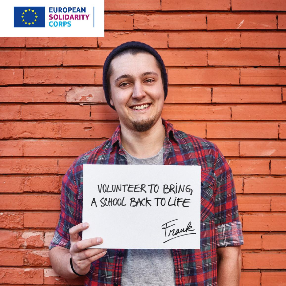 European Solidarity Corps illustration image