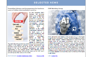 selected news - front page IMCO newsletter - issue 95