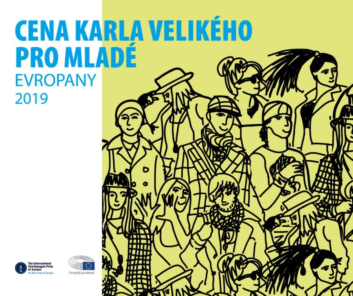 Plakát Ceny Karla Velikého.