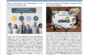Frontpage of the IMCO newsletter - selected news - issue 96