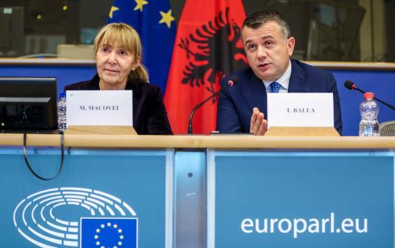 Co-Chairs 13th EU-Albania SAPC meeting 15 October 2018