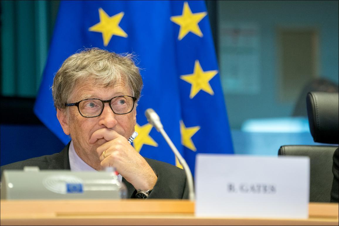 Fotografía del fundador de Microsoft, Bill Gates