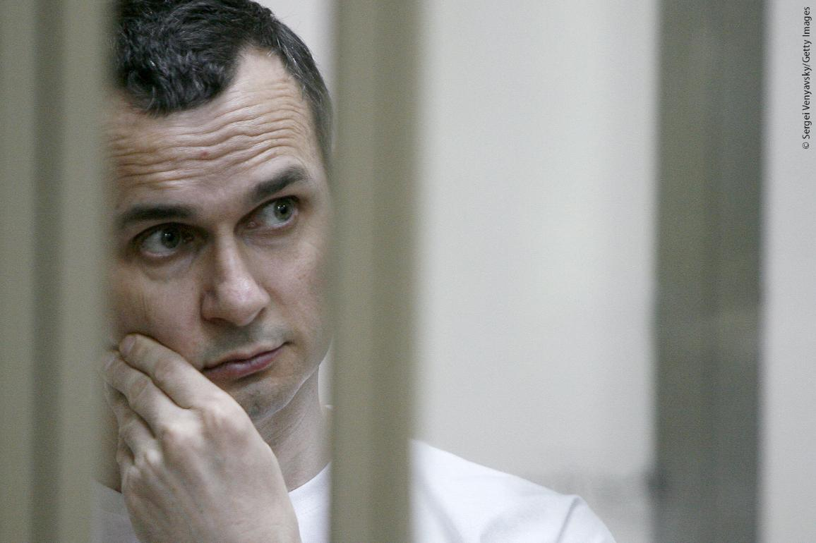 2018 Sakharov Prize laureate is Oleg Sentsov ©Sergei Venyavsky/Getty Images