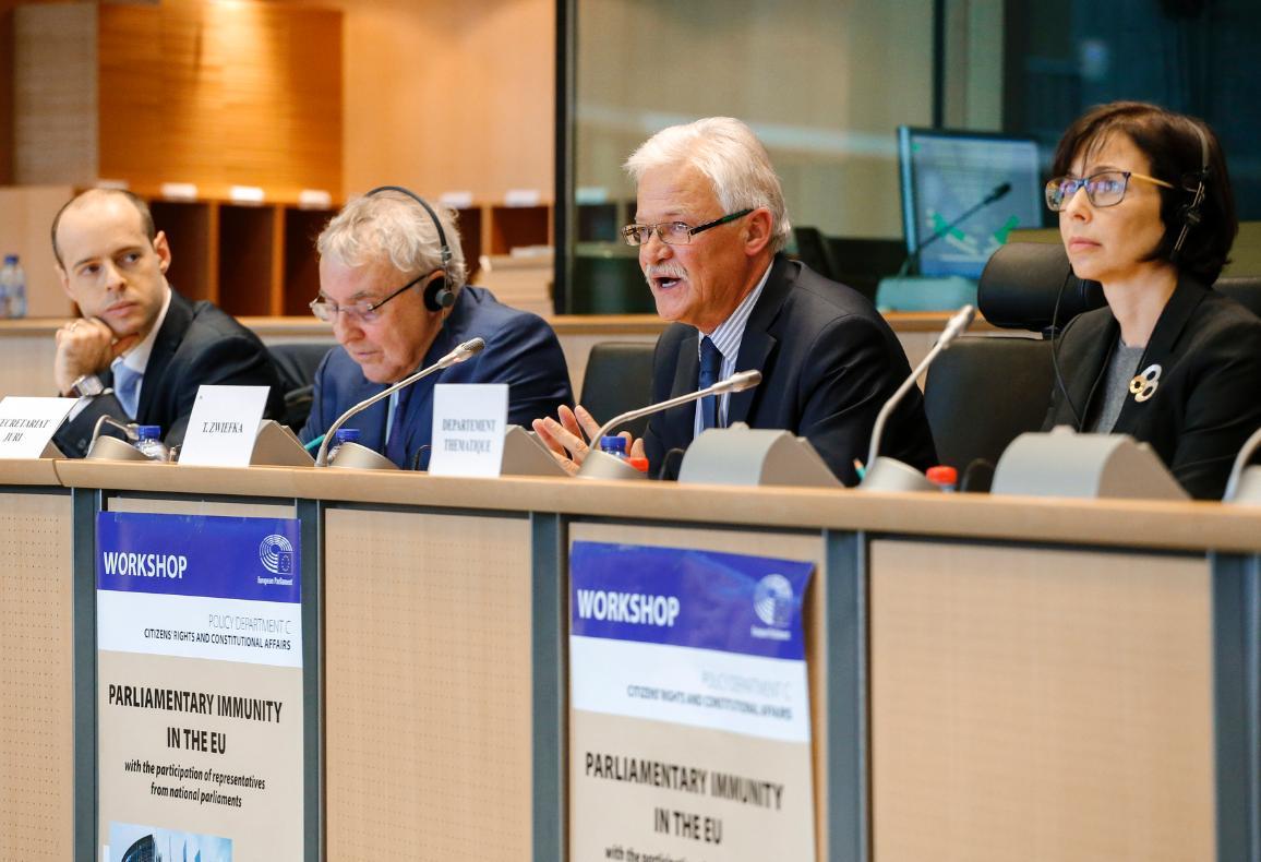 Workshop o poslaneckej imunite v EÚ © Európsky parlament.