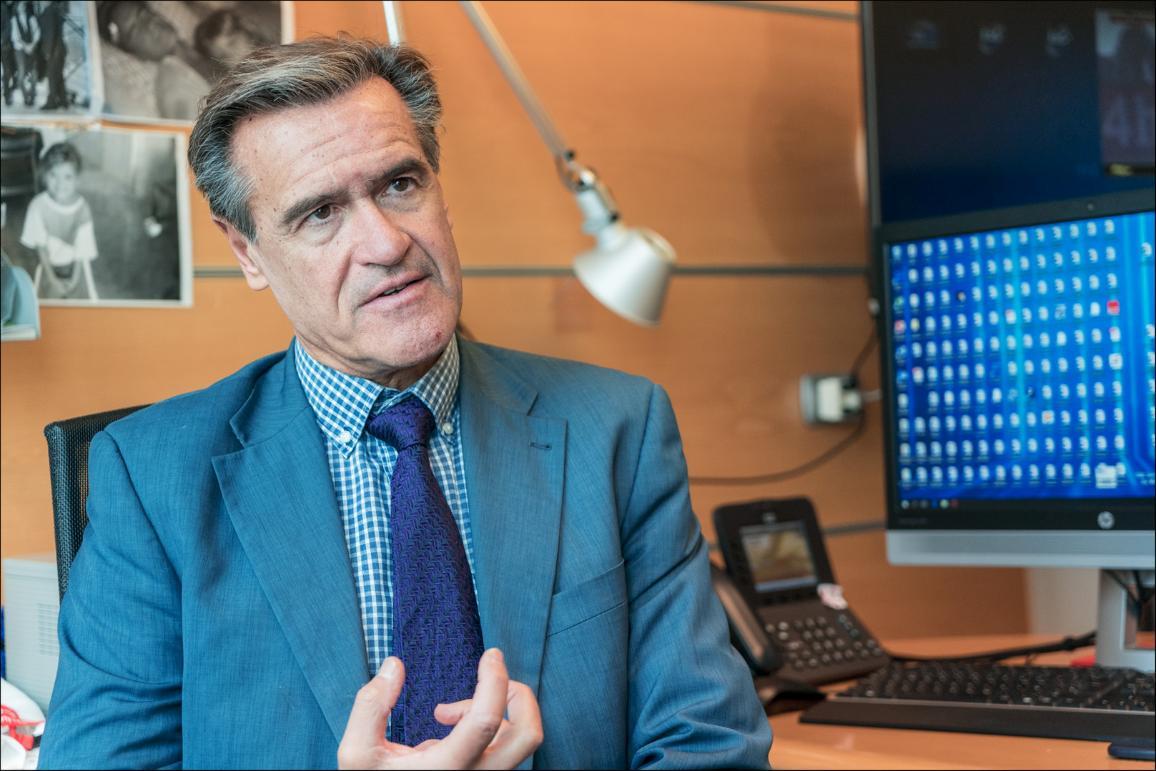 Interviu cu Juan Fernando López Aguilar.