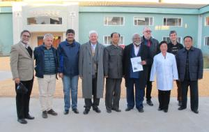 Delegation for relations with the Korean Peninsula, visit to food processing factory in Anbyon county, North Korea
