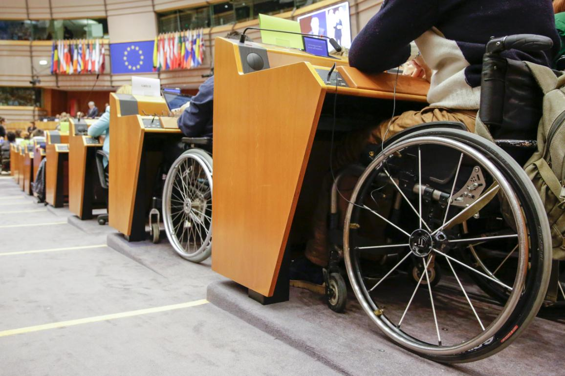 Accessibility for people with disabilities at the European Parliament